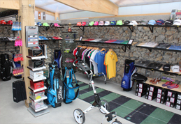 Le club house et son Pro Shop